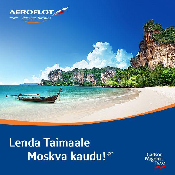 Aeroflotiga Taisse – lennud Bangkokki ja Phuketti