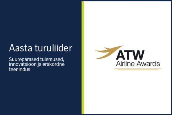 Läti lennufirma airBaltic ATW auhind