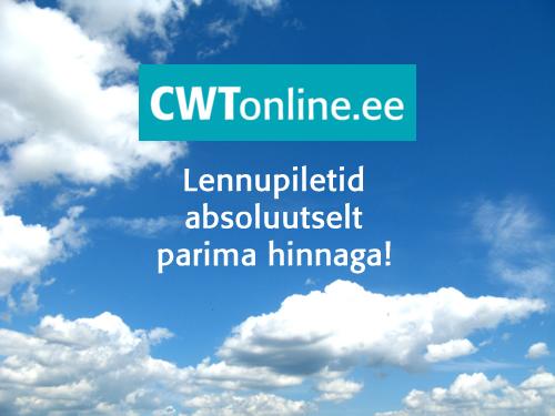 Soodsad lennupiletid CWT e-poest – CWTonline.ee