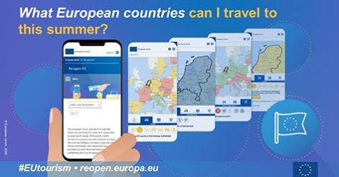 Euroopa Liidu rakendus reopen.europa annab teavet reisijatele