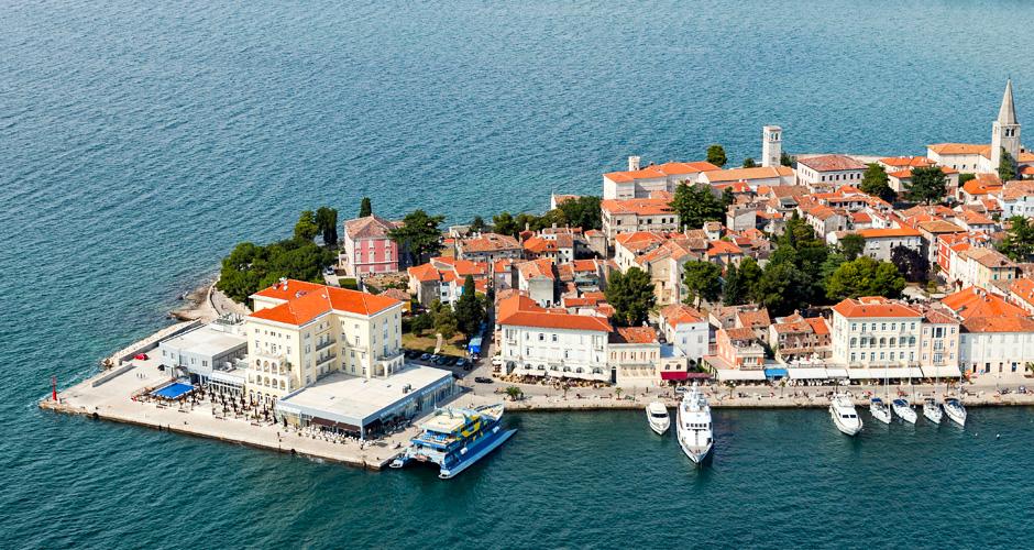 Horvaatia – võluvad rannikulinnad Porec, Umag