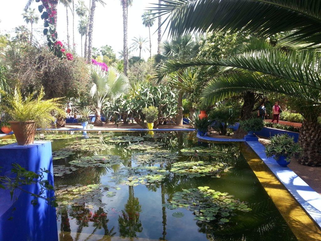 Majorelle aed, Marrakech, Maroko