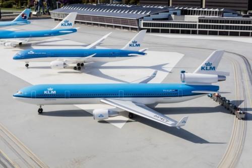 KLM täpseimate lennufirmade tipus