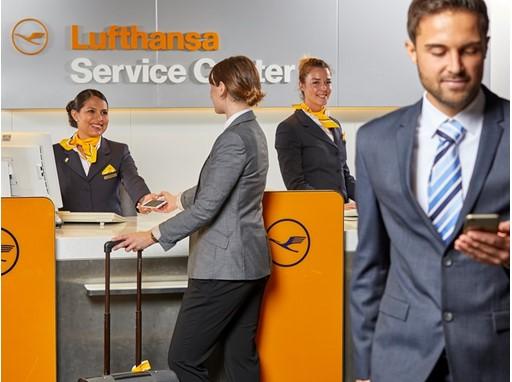 Lufthansa, check-in
