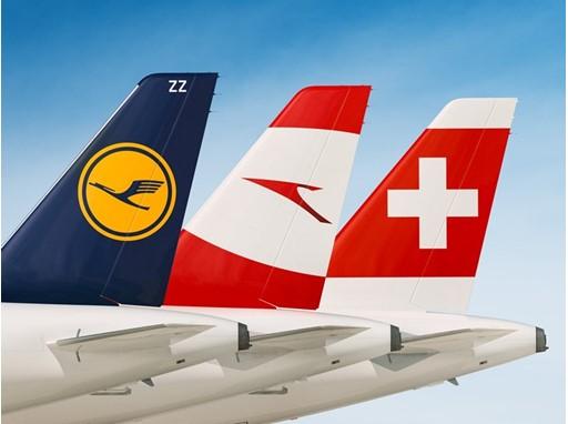 Lufthansa, Austrian Airline, SWISS
