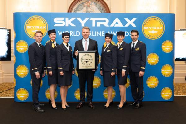 Lufthansa Euroopa parim lennufirma