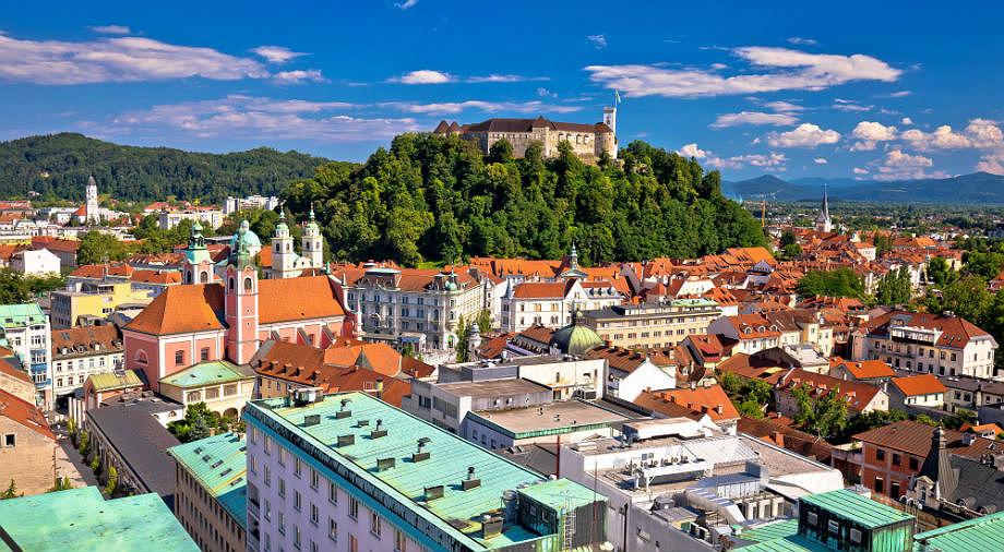 Maipühad Sloveenias Ljubjanas