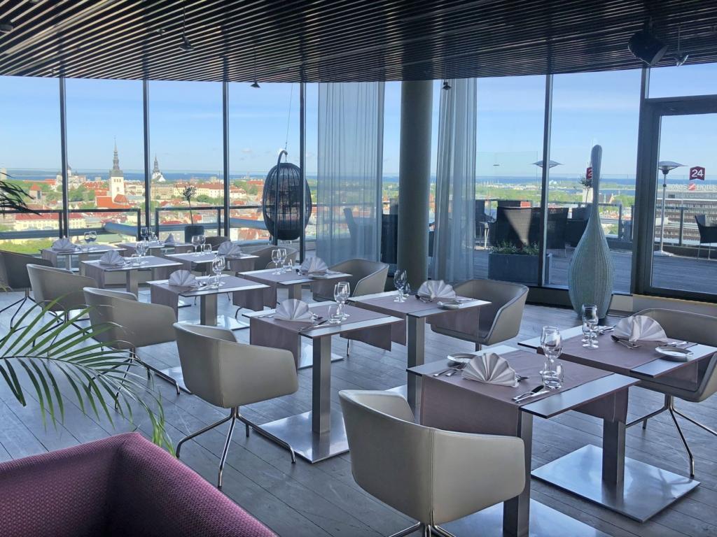 Privaatsed ärilõunad Radisson Blu Sky Hoteli Lounge24s