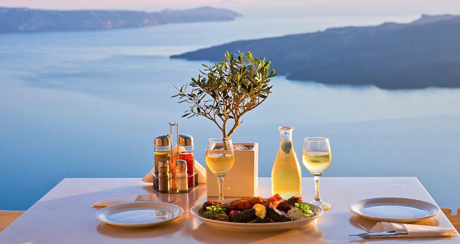 Santorini lummavad vaated