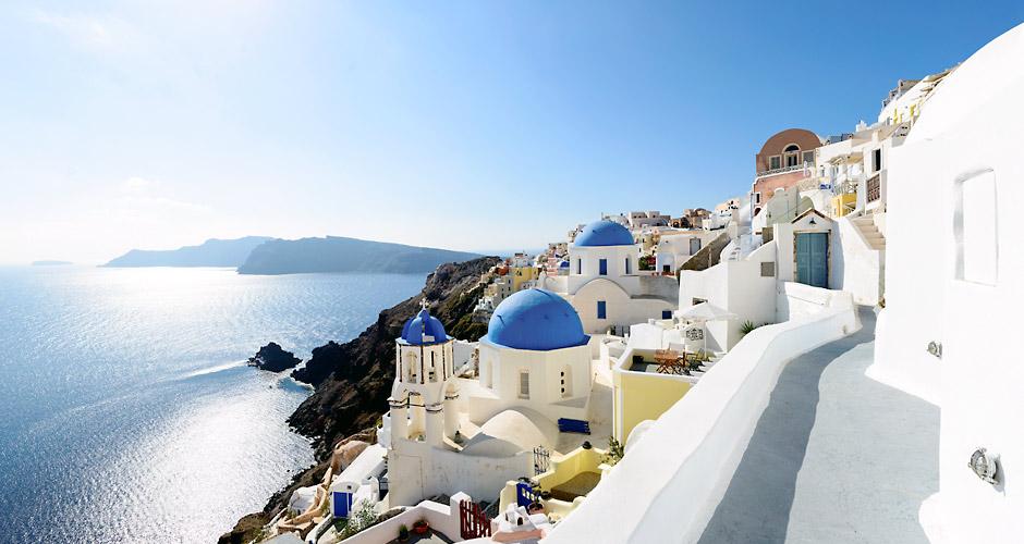 Piltpostkaardilik Santorini. Romantikute lemmik!