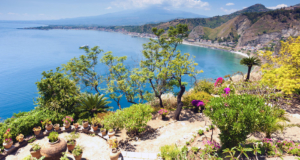 Sitsiilia Taormina vaade