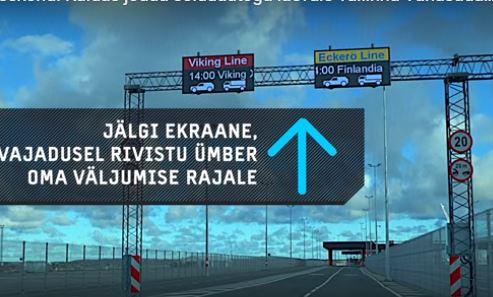 Tallinna sadama D-terminalis, uus liikluse juhtimise süsteem