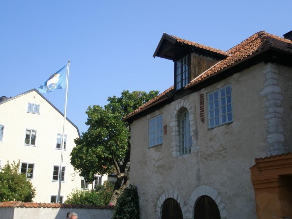 Visby kruiis, linna lipp