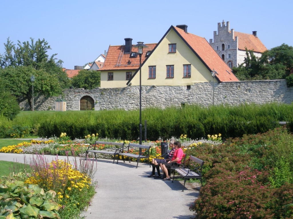 Visby kruiis, linnapark